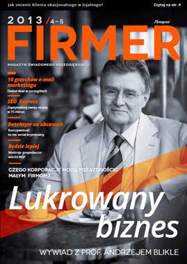 Magazyn Firmer - nr. 04-05/2013